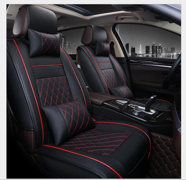 PU Leather Automotive Universal Car Seat Covers Set Fit Cover Accessories For MAZDA 3 Mazda