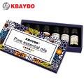 Óleo essencial para difusor, aromaterapia umidificador de óleo 6 tipos fragrância de alecrim, lavanda, lemongrass, laranja