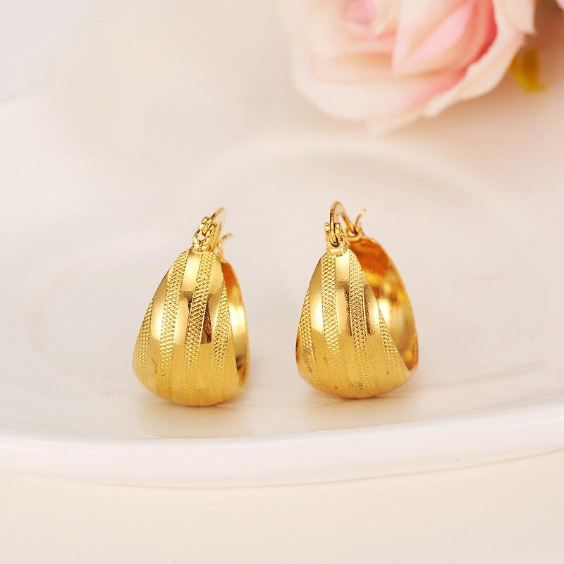 Bangrui Good Luck Gold Earring Women/Girl,Gold Color Number Earrings Africa Jewelry Arab Infinity Earring Middle Eastern gold earrings for women