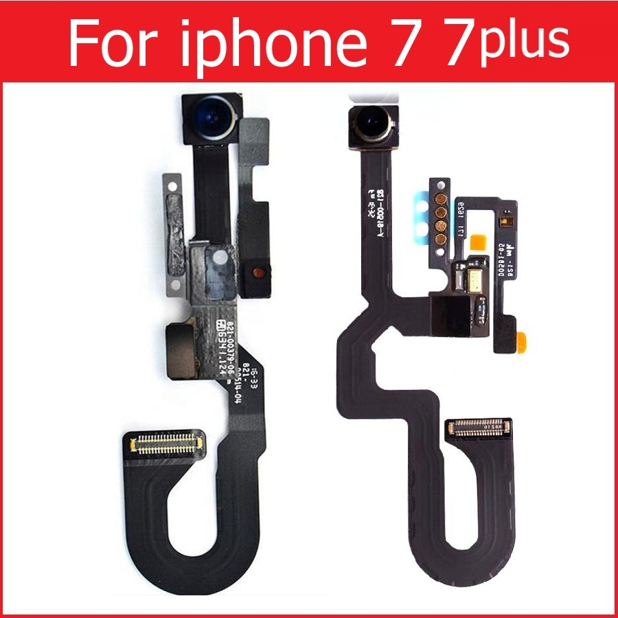 Genuine new Small Facing Camera for iPhone 7 7 Plus Front Camera with Proximity Light Sensor & Microphone Flex Cable Replacement