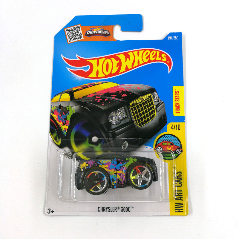 2016 Hot Wheels 1:64 Car CHRYSLER 300C Collector Edition Metal Diecast Cars Collection Kids Toys Vehicle For Gift