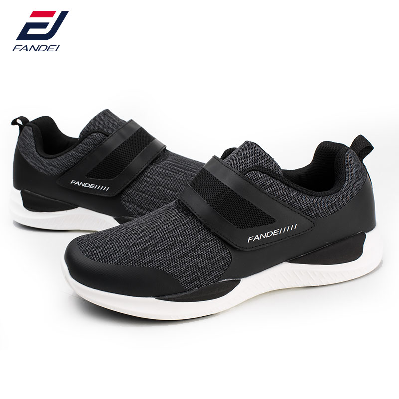 FANDEI running shoes for men&women sport shoes mens hook&loop designer men sneakers black chaussure homme mens running shoes