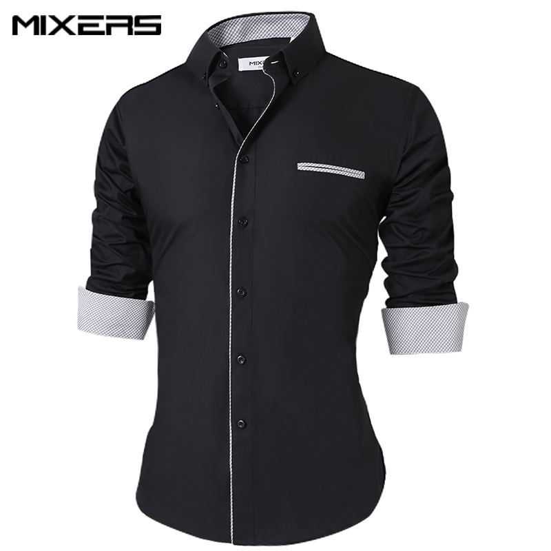 Brand 2018 New Casual Shirt Men Office Dress Shirt Men Long Sleeve High Quality Men's Casual Shirts Male Clothes Camisas