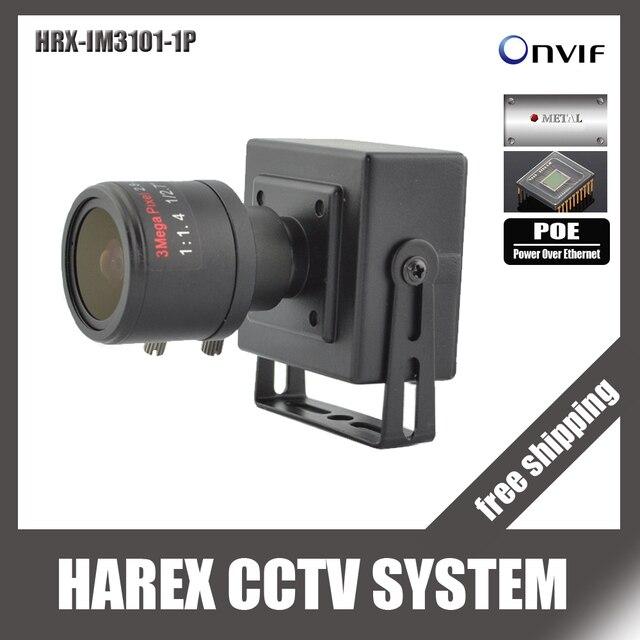 720 P 1.0mp POE Мини IP Камера ONVIF 2.8-12 мм ручной зум-объектив с переменным фокусным расстоянием plug and play с кронштейн. Бесплатная доставка