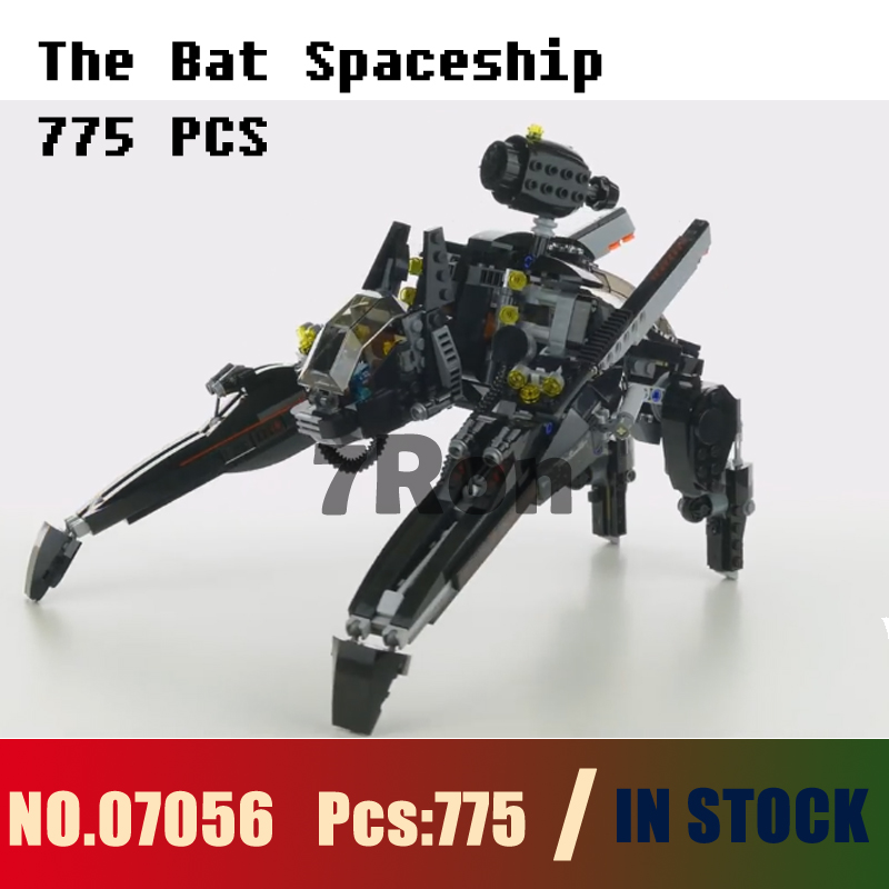 Model building toys hobbies The Bat Spaceship 07056 775pcs Compatible With lego Blocks batman 70908 Educational DIY Bricks