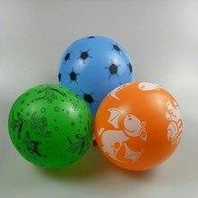 Dinosaur balloon 50pcs/lot 12inch thick latex print spiderman ballons baby shower boy baloons party decoration birthday
