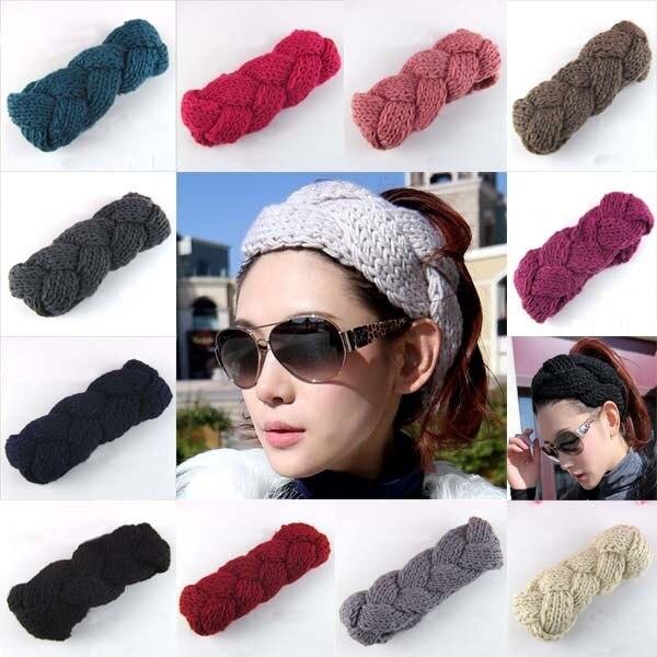 10 colores nueva moda estilo del Buñuelo trenza mujeres ganchillo ...