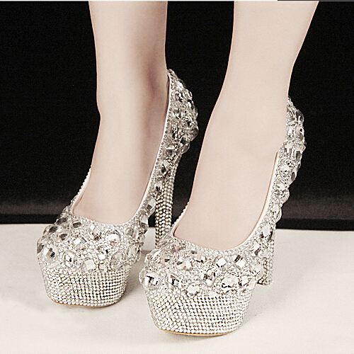 Aliexpress.com : Buy New Sale Gorgeous Fashion Silver High Heels