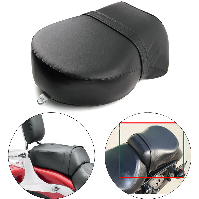 For Harley-Davidson Sportster XL 883 1200 XL1200 Rear Seat Cover Cushion Leather Pillow Motorcycle Passenger Seat Accessories