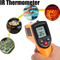 IR Infrared Digital C/F Temperature -50 to 330 degree  Non-Contact Laser LCD Display Thermometer For Industry Home