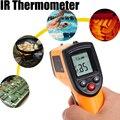 IR Infrarrojo Digital C/F de Temperatura-50 a 330 grados Sin Contacto del Laser Termómetro Pantalla LCD Para Hogar de la industria