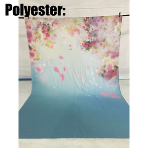 Image 3 - Allenjoy newborn photography backdrop flower spring bokeh watercolor background photo studio baby shower child nature photocall