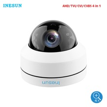 Inesun Security Dome Camera HD 1080P 4-In-1 (TVI/AHD/CVI/CVBS) 2.8-12mm Varifocal Lens 100ft IR Indoor & Outdoor Waterproof IP66 цена в Москве и Питере