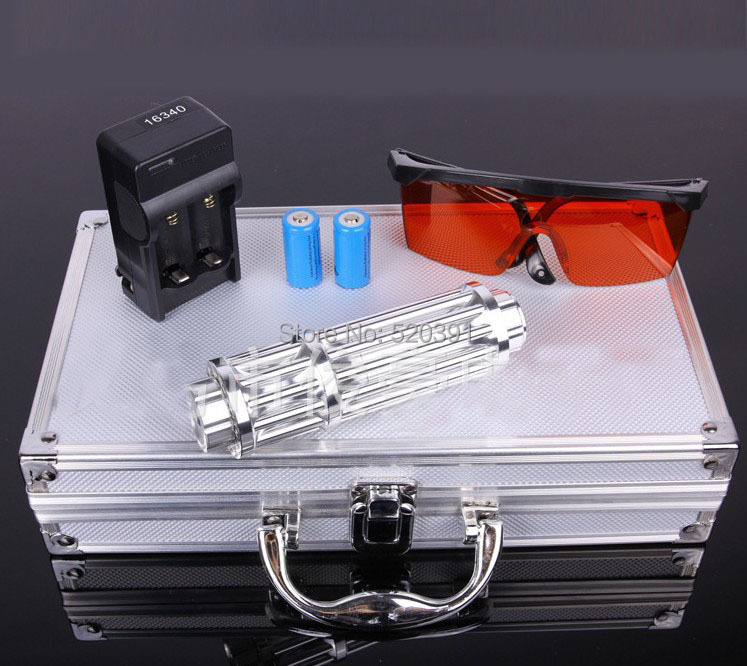 High Power Blue Laser pointers 80000mw/80W 450nm Flashlight Burning match Balloon Dry wood Burn Cigarettes+Free Glasses+Gift Box laser power box 80 co2 laser power box 80w gernally laser power box 80w use for co2 laser tube 80w