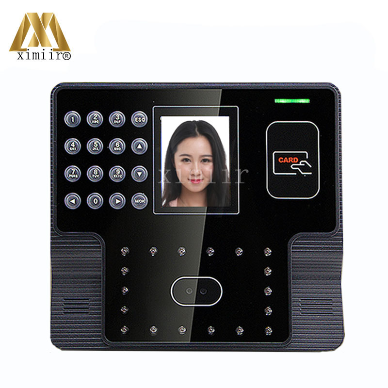 Biometric Face Recognition Employee Attendance Management System Face And EM Card Reader Time Attendance Machine Iface101