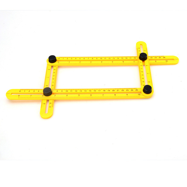 New Measuring Instrument angle template tool four sided ruler