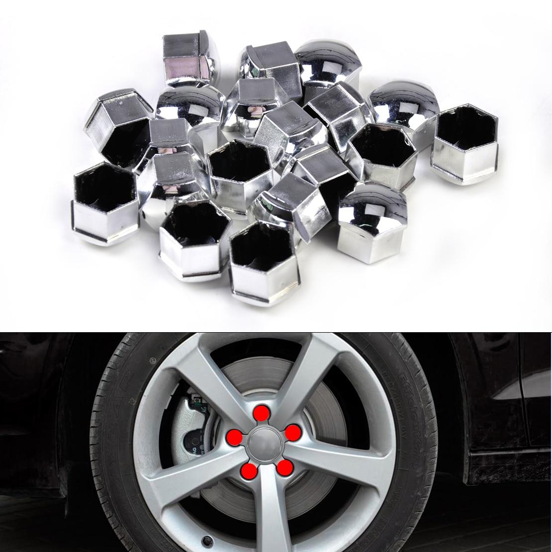 AUDI VW SEAT SKODA Alloy Wheel Bolt Nut Caps Covers NEW!!! Tool GENUINE!!