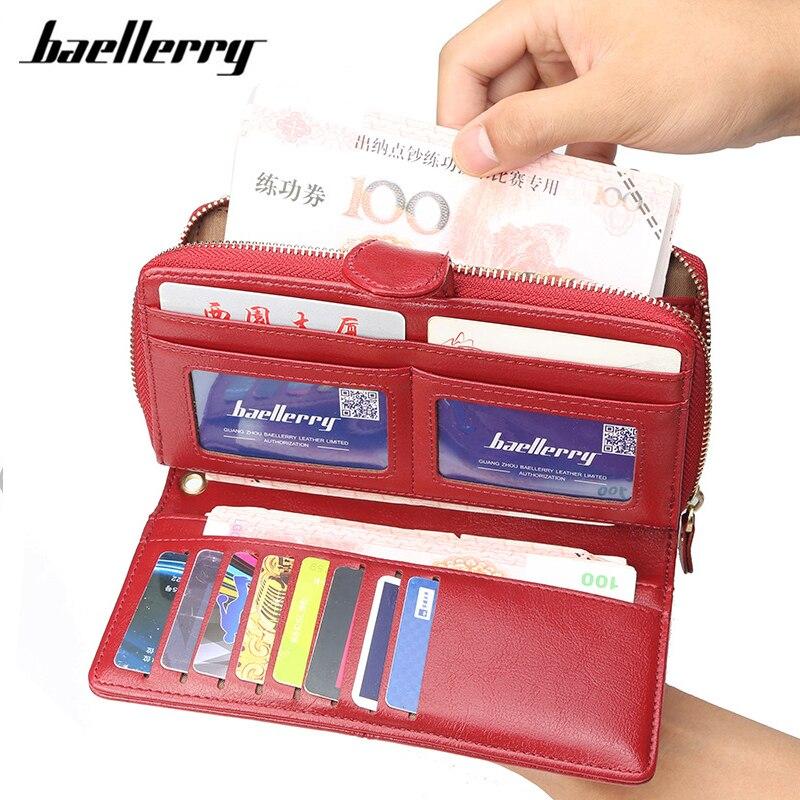 Newest Ladies Wallets Female Leather Purses Women Long Clutch Zipper Purse Woman Wallet Card Holder High Quality Fashion Brand процессор amd ryzen 3 1300x oem yd130xbbm4kae