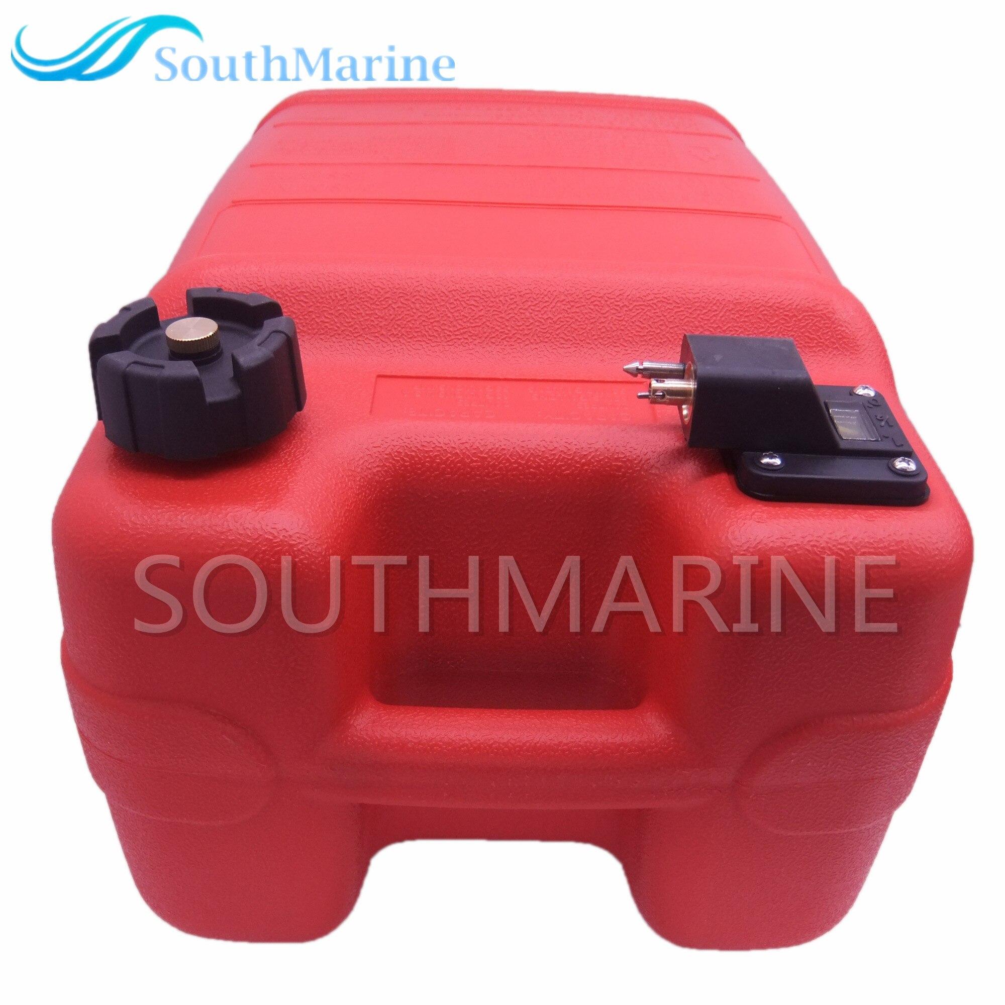 24l montagem do tanque de combustível externo para yamaha motor de popa com tampa combustível & conector combustível & calibre combustível barco a parte
