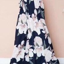 Floral Print wide leg pants Women 2019 Summer Boho Beach Pan