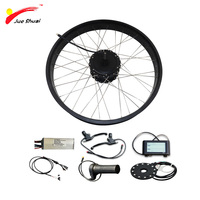 E Bike 26 4.0 Fat Tire Bike Electric Bike Kit 48V 1000W Motor Wheel Electric Bicycle Conversion Kit for 26 Rear Wheel Motor