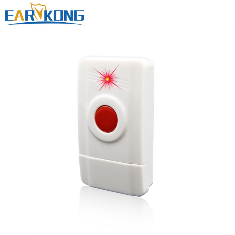 Hot Selling Panic SOS Button, 433MHz One Key Alarm Wireless Alarm For Home Burglar Alarm System, цена
