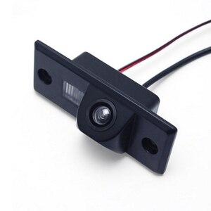 Image 1 - Tylna kamera samochodowa HD dla Volkswagen Golf Passat dla Skoda dla Porsche Cayenne noktowizor Auto kamera cofania