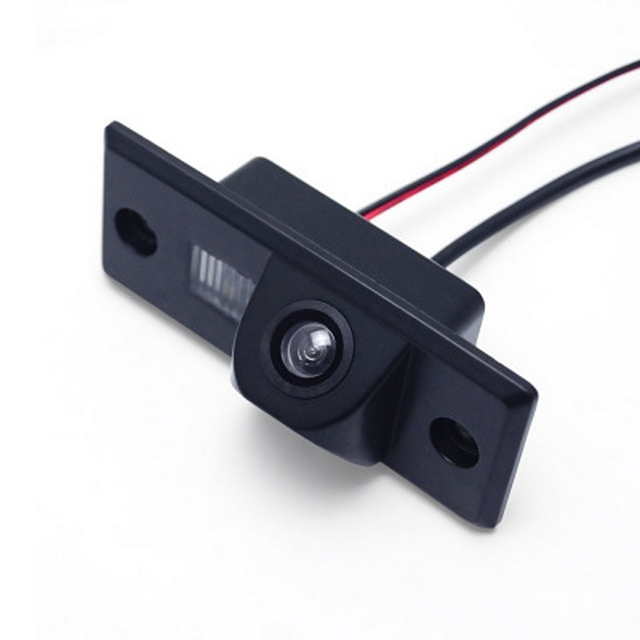 Tylna kamera samochodowa HD dla Volkswagen Golf Passat dla Skoda dla Porsche Cayenne noktowizor Auto kamera cofania