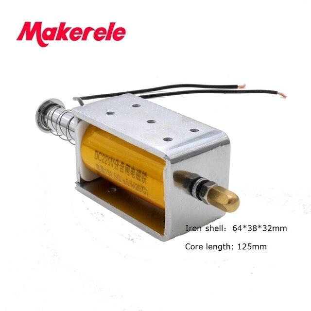 Draht anschluss elektromagnet spule für leistungsschalter und ...