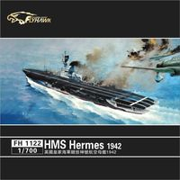 1/700 British Royal Navy aircraft carrier 1942 Assemble Model Toys