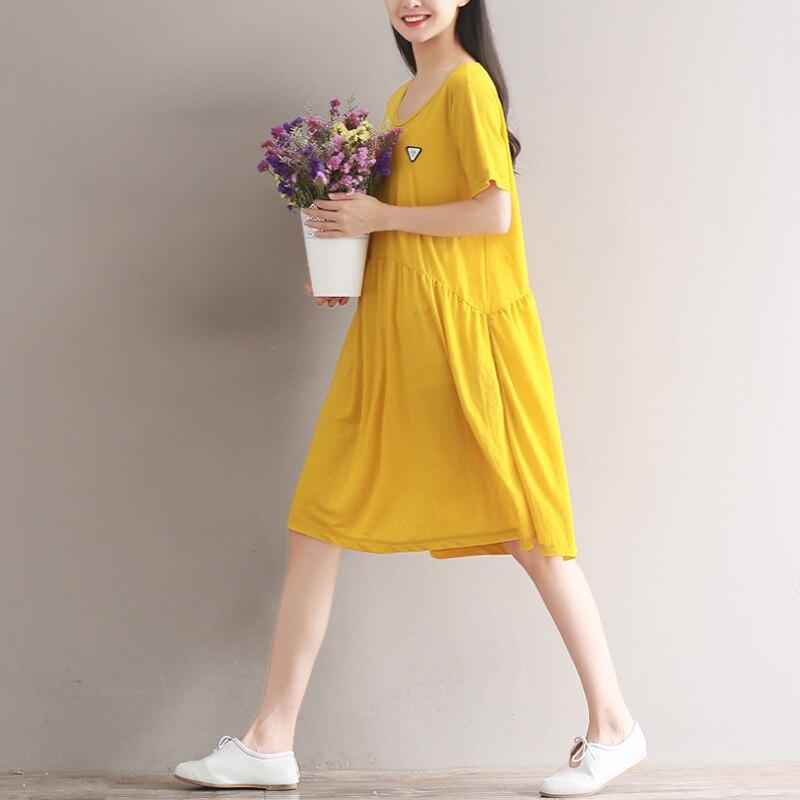a line sukienki cotton office vetement femme big size. Black Bedroom Furniture Sets. Home Design Ideas