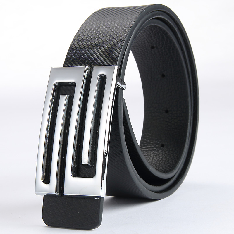 2018 New Arrival Men Designer Belts Male Casual PU Smooth buckle Business Casual Leather Large size 140 160 180 200CM