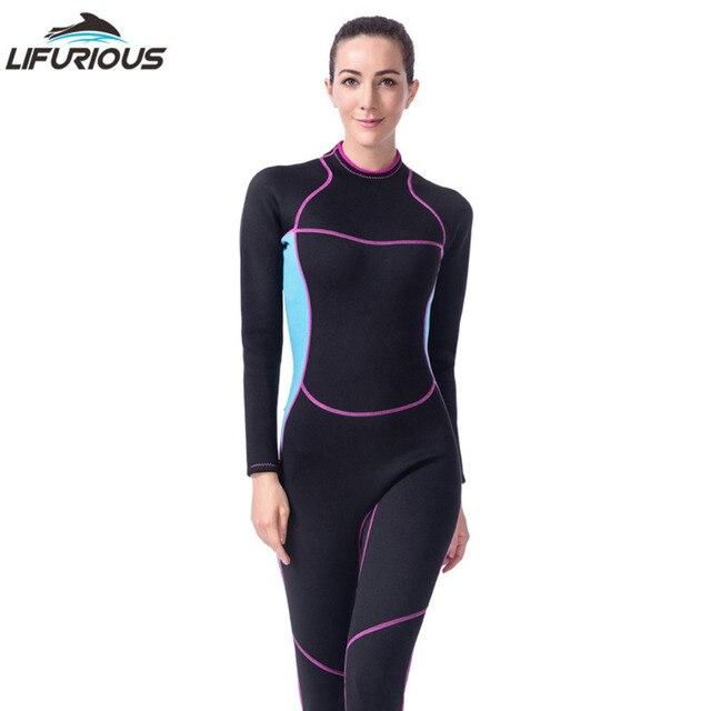 Equipo de Buceo de Una Pieza del traje de Baño de Surf Pesca Submarina  Trajes siameses 98fec6d7e7b