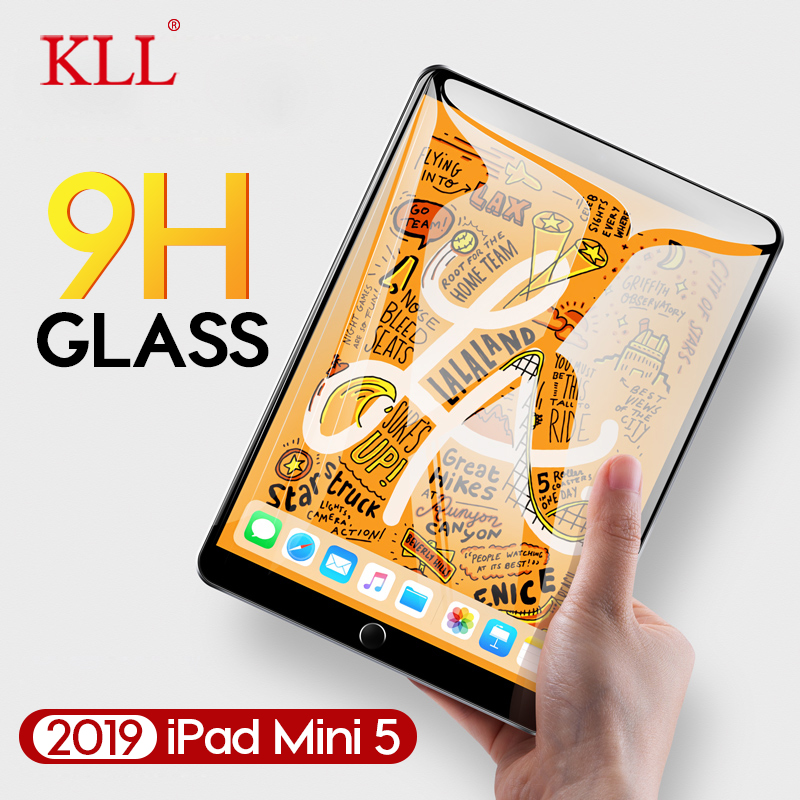 9H 2.5D Tempered Glass for Apple iPad Mini 5 4 3 2 1 Tablet Screen Protector for iPad Air 2 1 iPad 4 3 2 Protective Glass Film