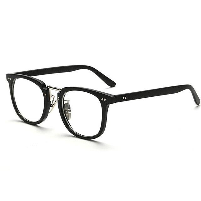 2016 Plastic Glasses Frames For Women Men Vintage Nerd Eyeglasses ...