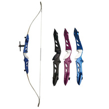 66inch Draw Weight 16lbs to 36lbs Recurve Bow Takedown Aluminum Alloy Bow Hand A Recurve Bow Sight And Arrow Rest archery 66 68 70inch recurve bow draw weight 16 40lbs takedown bow hunting with a set recurve bow sight and arrow rest