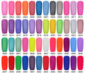 nail polish gel polish 15ml 48 colors  UV Nail Lamp Led Gel Soak Off Nail Gel