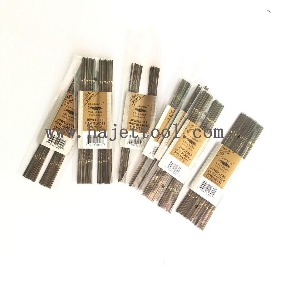 Free Shipping Vallorbe Saw blades gold Cutting Tools 144pcspack Glardon Vallorbe Saw Blade jewellers tool
