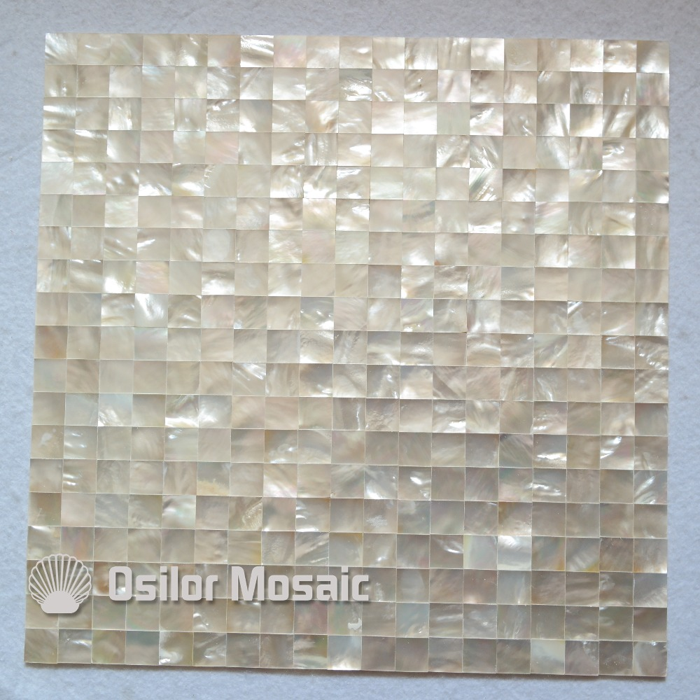 Free shipping 100% sea shell white mother of pearl mosaic tile for interior house decoration kitchen backsplash wall tiles sea shell mosaic tiles seamless join natural pure white color kitchen wall mosaics tile hot sale free shipping