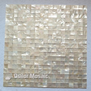 Free shipping 100% sea shell white mother of pearl mosaic tile for interior house decoration kitchen backsplash wall tiles
