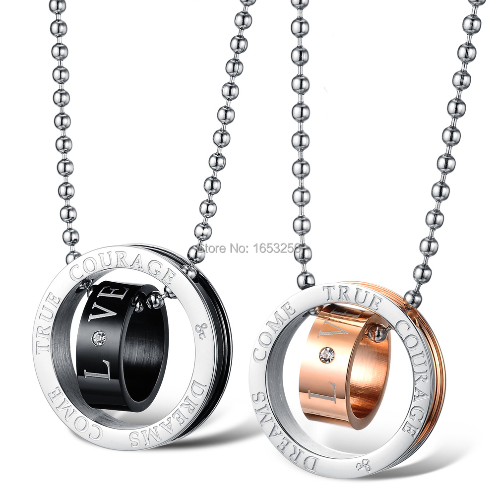 Compare Prices on Promise Necklace for Couples- Online Shopping ...