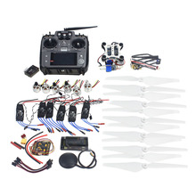 F14711-I RC HexaCopter ARF Electronic: RadioLink AT10 TX&RX 920KV Brushless Motor 30A ESC Propeller GPS APM2.8 Camera Gimbal