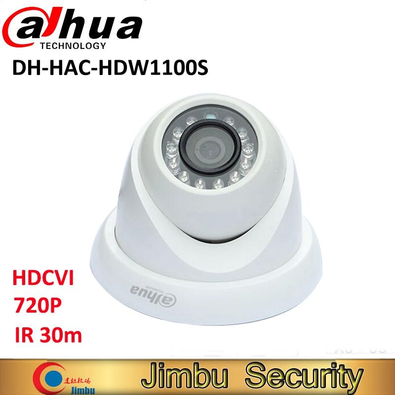 Dahua HDCVI camera HAC-HDW1100S 720P 1MP Mini Dome Camera IR30m IP67 Security CCTV Camera HDW1100S dahua hdcvi 1mp camera hac hdw1100c dome cmos 720p lens6mm ir 20m ip66 security camera hdw1100c