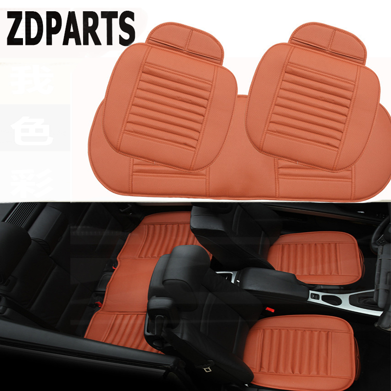 ZDPARTS 4color Leather Car styling Cushion Seat Covers Pad For Opel Astra J G Insignia Vectra c Peugeot 307 206 308 407 207 3008
