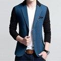 2017 весной новый мужской маленький костюм Корейский Тонкий костюм будет Запад мужчины тонкий пиджак Бесплатная Доставка
