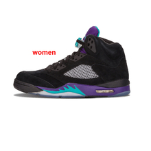42d4588caefc Jordan 5 Basketball Shoes Men Women Man Red Suede Wings Bred Black Purple White  Cement 2019