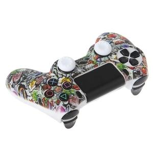 Image 3 - وحدة تحكم غمبد واقية سيليكون كم الحرس 2 قبضة قبعات ل PS4
