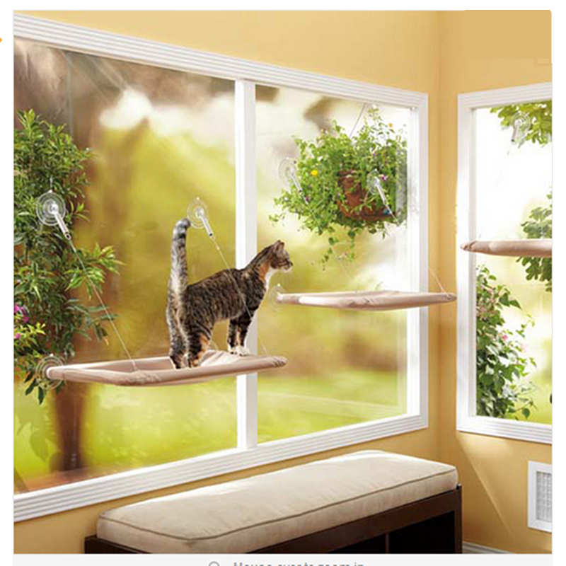 Free Shipping Tv Product Pet Hammock Cats With A Suction