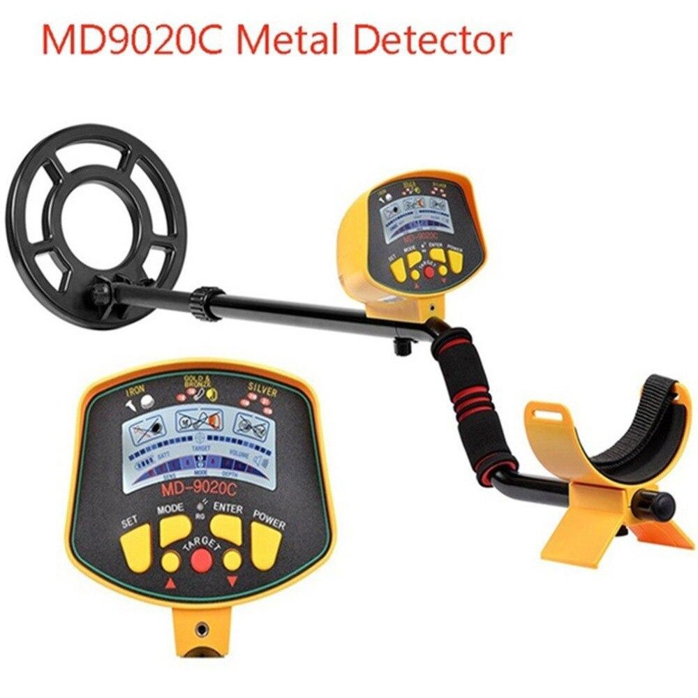 MD9020C подземный детектор металла безопасности высокая чувствительность ЖК-дисплей Дисплей Сокровища Золотой Охотник Finder сканер Бесплатная ...