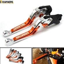 Motorcycle Folding Extendable Adjustable  Aluminum Brakes Clutch Levers For KTM 990 AdventuRe adventure 2009